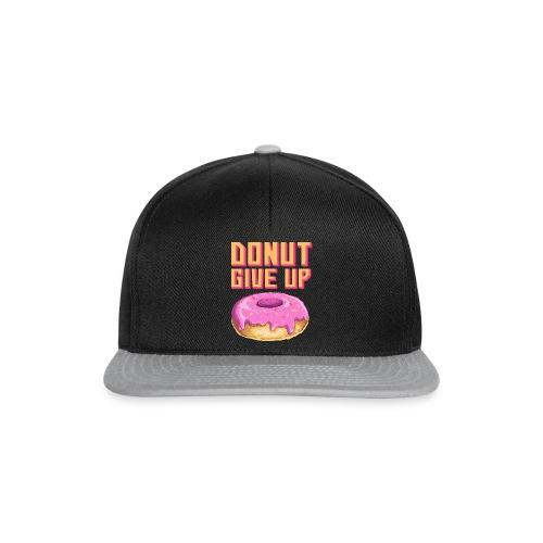 DonutGiveUp - Snapback Cap