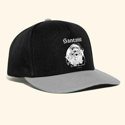 Ugly Christmas Santa Design Santanist - Snapback Cap