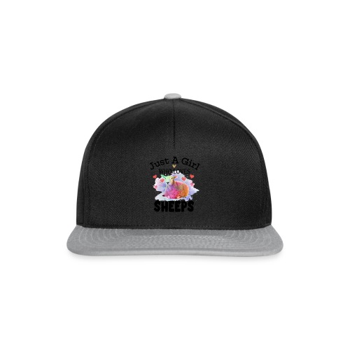 Just A Girl Who Loves Sheeps - Snapback Cap