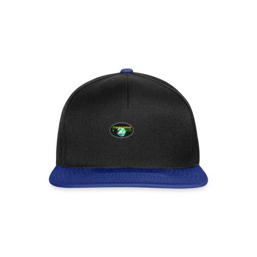 awesome earth - Snapback Cap