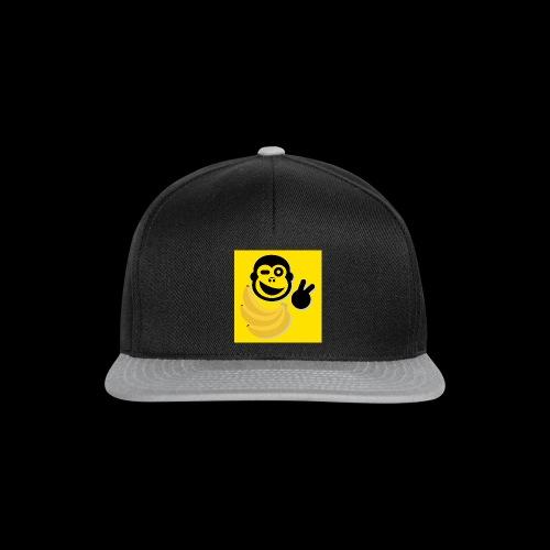 TB Logo gelb xxl 4000pix - Snapback Cap