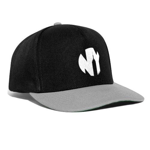 Logo French Yorker blanc - Casquette snapback