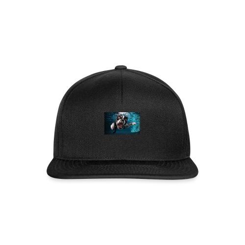 Svømmende hund - Snapback-caps