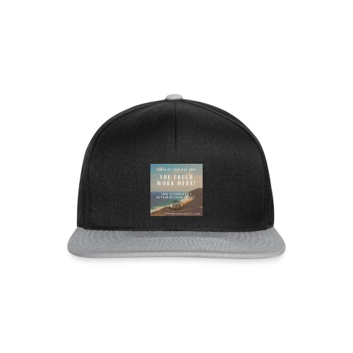 Automnicon. Are you tired of your day job? - Snapback Cap