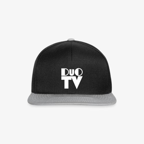 DuO TV Stempel (weiß) - Snapback Cap