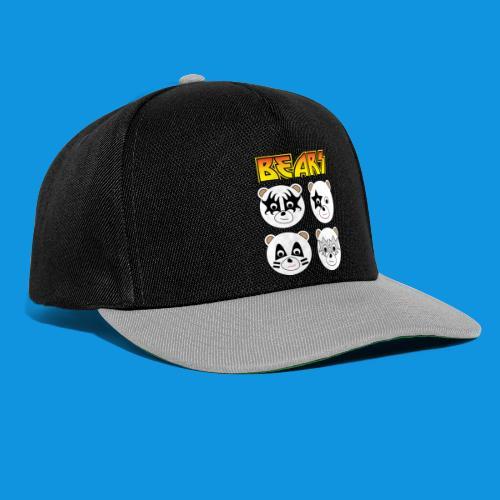 Kiss Bears square.png - Snapback Cap