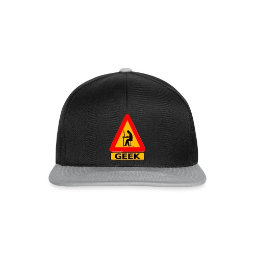geek_warning - Casquette snapback
