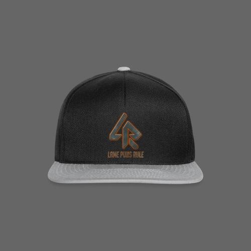 Lame Puns Rule: Logo - Snapback Cap