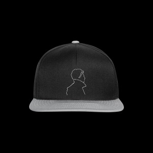 David Bowie Low (white) - Snapback Cap