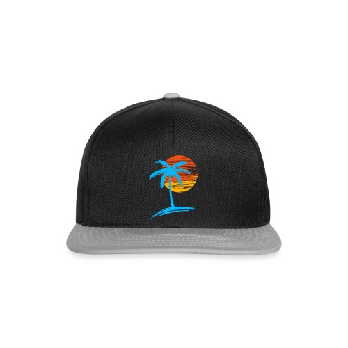 Summer palm effect - Casquette snapback
