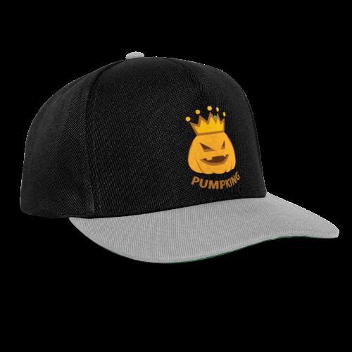 Kürbis König   Kürbisgesicht Krone Halloween - Snapback Cap