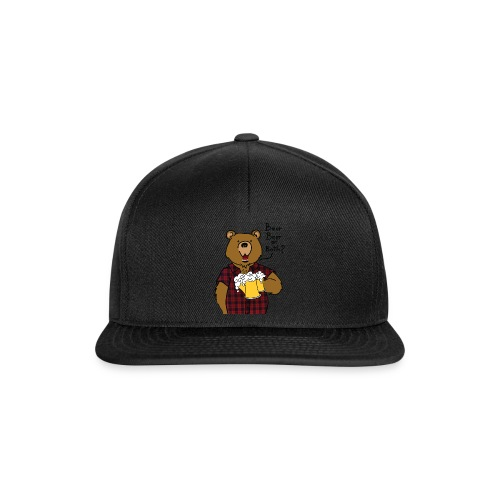 Beer and Bear - Casquette snapback