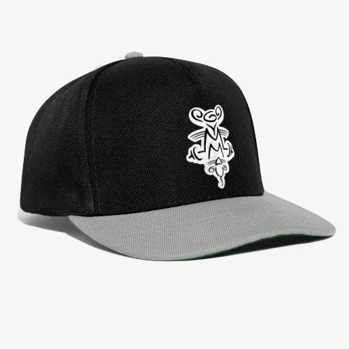 Gymmaus on black - Snapback Cap