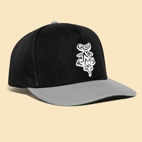 Gymmaus on black - Snapback Cap