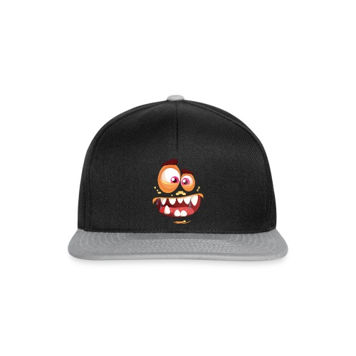 Halloween Monster Gesicht - Snapback Cap