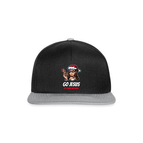 Go Jesus It's your Birthday - Snapback Cap