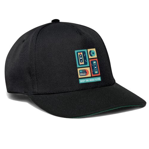 Keep The Music Playing - Snapback Cap