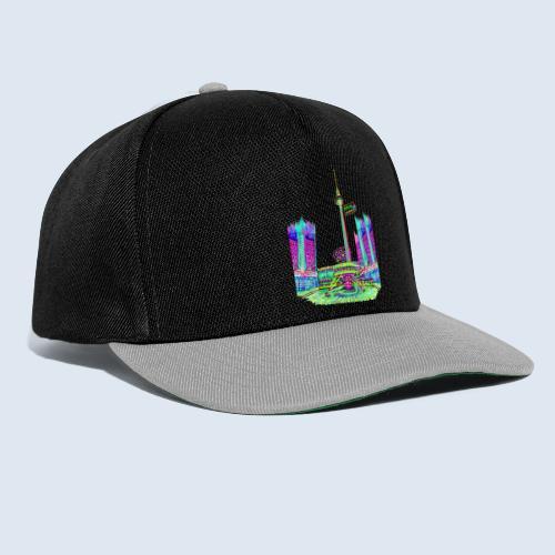 """Berliner Original """"Alexanderplatz"""" PopArt Design - Snapback Cap"""