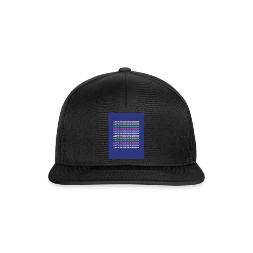 Wash our hands campaign - Snapback Cap