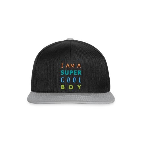 I AM A SUPER COOL BOY - Snapback Cap