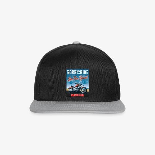 Summer 2021 - Born to ride - Snapback Cap