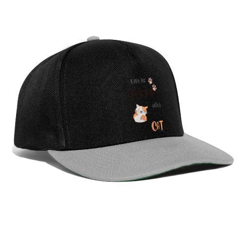 cat lovers - Snapback Cap