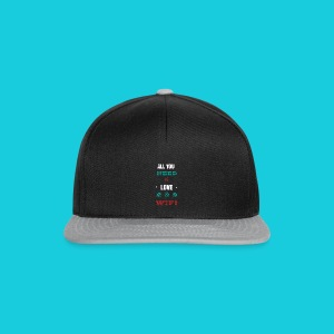 Zwapp Designs Love and WiFi - Snapback Cap