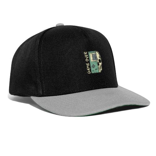 Game over Gaming Spruch Outfit für Zocker Gamer - Snapback Cap