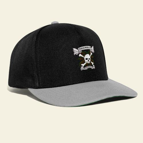 skull back - Snapback Cap