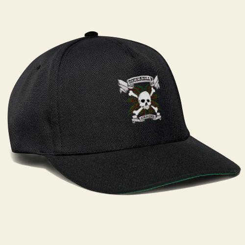 Rockabilly Raredog Skull - Snapback Cap