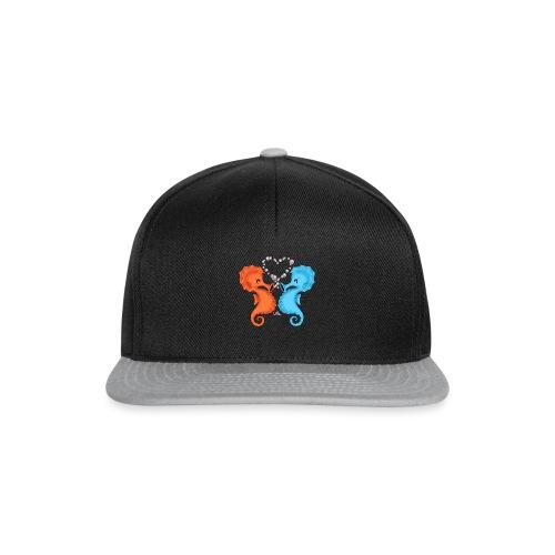 Seepferdchenliebe - Snapback Cap