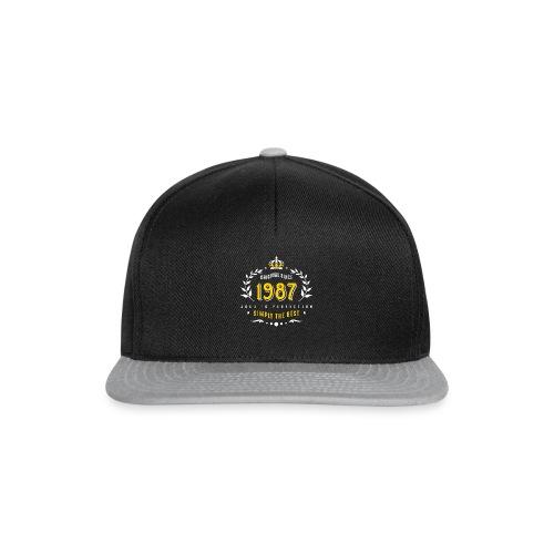 original since 1987 simply the best 30th birthday - Snapback Cap