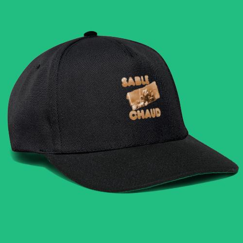 sable chaud3 - Casquette snapback