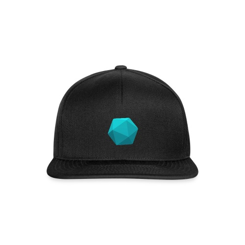 Blue d20 - D&D Dungeons and dragons dnd - Snapback Cap
