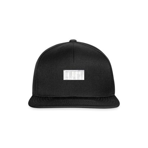Nye Skema - Snapback Cap