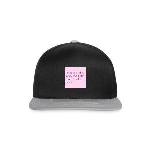 Vrouwen shirt - Snapback cap