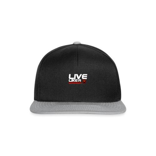 Men - Live like A Warrior Shirt - Snapback cap