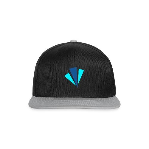 Blauwe Objecten T-shirt - Snapback cap