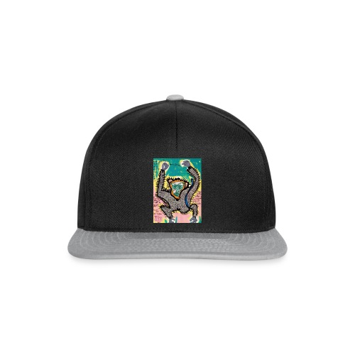 the monkey - Snapback Cap
