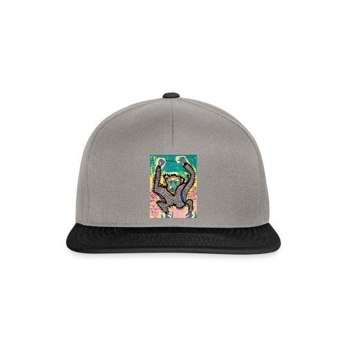 the monkey - Snapback Cap