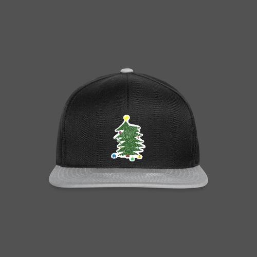Christmas Kids-Drawing - Snapback Cap