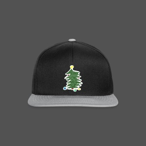 Christmas Kids-Drawing - Snapback Cap