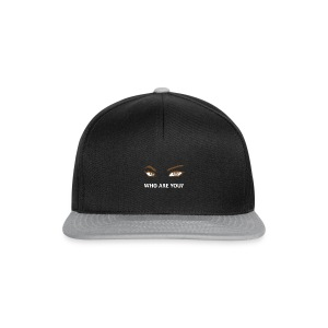 Men ! Who are you Man - Casquette snapback