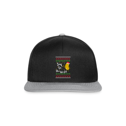 Soy to the world 1 - Snapback cap