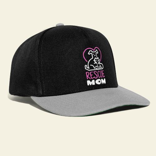 Rescue Mom - Snapback Cap