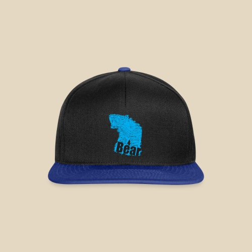 Blue Bear - Casquette snapback