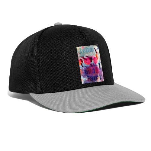 Leben und Farbe - Snapback Cap