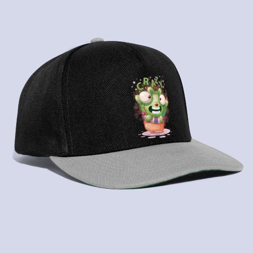 Crazy funny monster design for everyone - Snapback Cap