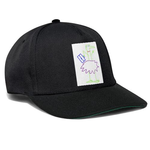 Lady with suitcase - Snapback Cap
