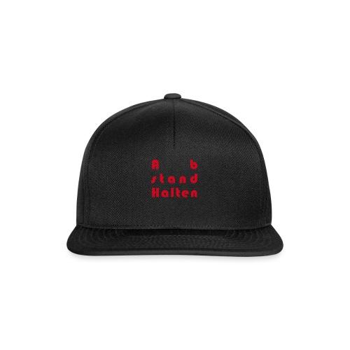 Abstandhalten - Snapback Cap